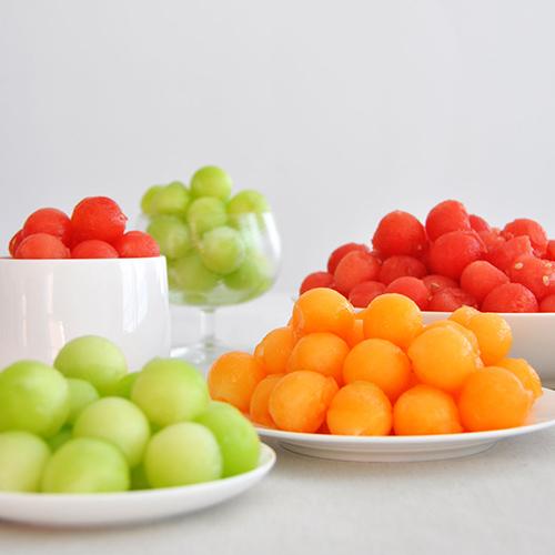 Как сделать шарики арбуз